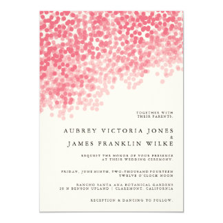 Rosey Light Shower | Wedding Invitations