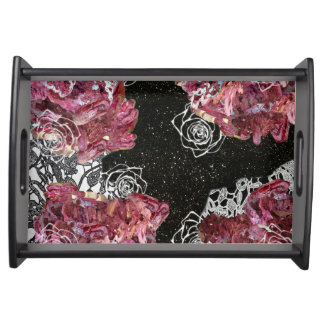 Rosey Love Serving Tray