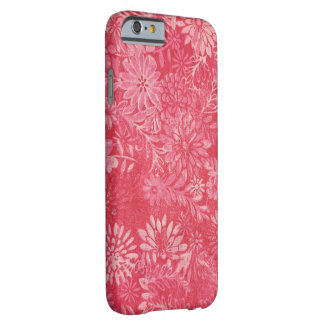 rosey pink daisy design barely there iPhone 6 case