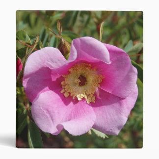 Rosey Pink Rose Avery Binder