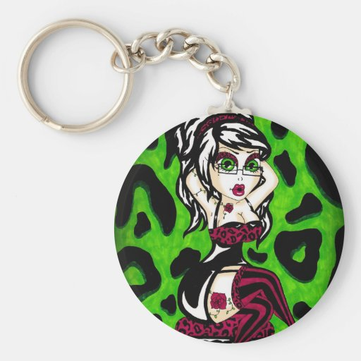 Rosey Posey Keychains
