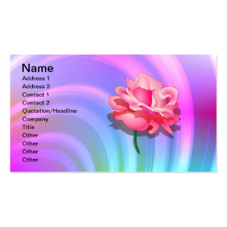 Rosey Rainbow Business Card