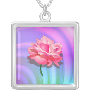 Rosey Rainbow Necklace
