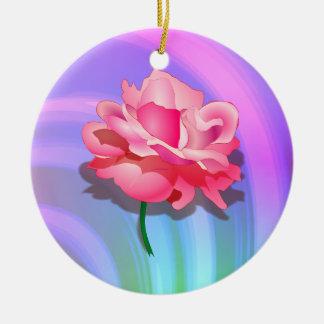 Rosey Rainbow Ornament