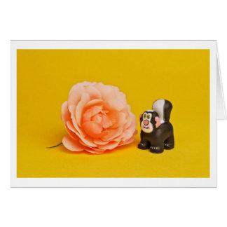 Rosey Skunk Notecard