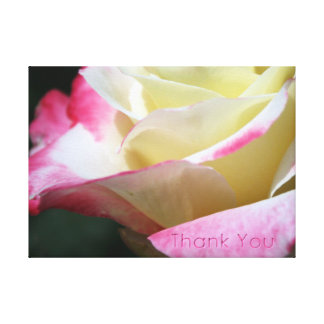 ROSEY THANK YOU CANVAS PRINT