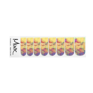 Rosey Watercolor Minx® Nail Wraps