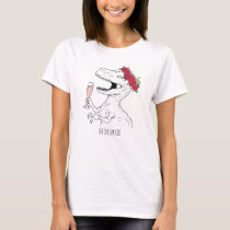 Rosezilla Bridal Party T-Shirt
