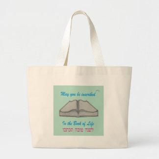 """Rosh Hashana """"Book of Life"""" Tote Bags"""