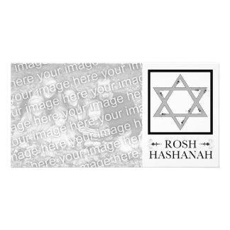 rosh hashana : star of david photo card