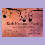 Rosh Hashanah Apple Silhouette Card