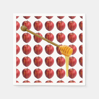 Rosh Hashanah Apples & Honey Paper Napkin