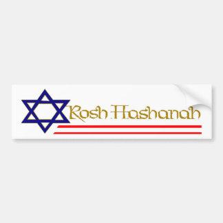 Rosh Hashanah Bumper Sticker