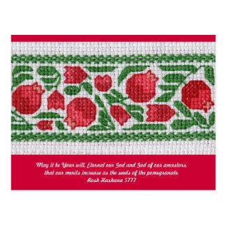 Rosh Hashanah card 5777 -- customizable