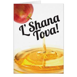 Rosh Hashanah Card - L'Shana Tova!
