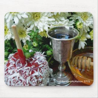 Rosh Hashanah carda los regalos Alfombrilla De Ratón