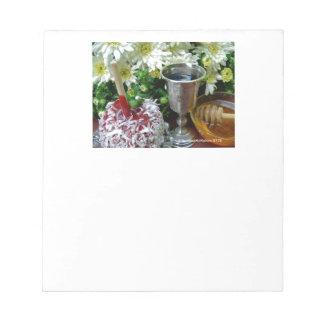 Rosh Hashanah Cards Gifts Memo Note Pad