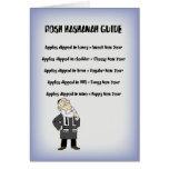 Rosh Hashanah Guide Greeting Card