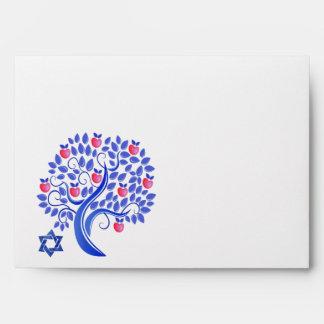 Rosh Hashanah. Jewish New Year Envelopes