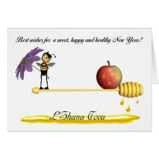 Rosh Hashanah Jewish New Year - L'Shana Tova Greeting Card