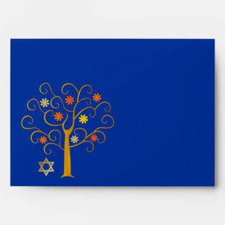 Rosh Hashanah. Sobres judíos del Año Nuevo