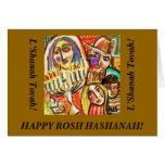 Rosh Hashanah: Tarjeta judía del festival
