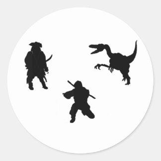 Roshambo? Classic Round Sticker
