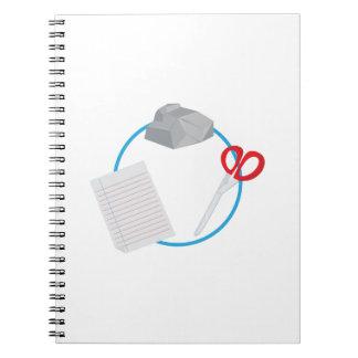 Roshambo Spiral Notebook