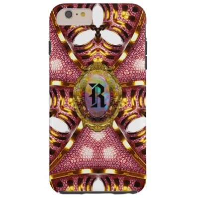 Roshcastle  6/6s French Girly Monogram Tough iPhone 6 Plus Case