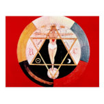 Rosicrucian symbol of the Hermetic Order Postcard