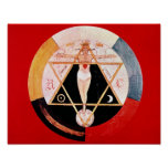 Rosicrucian symbol of the Hermetic Order Poster