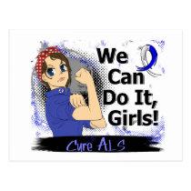 Rosie Anime WCDI ALS Postcard