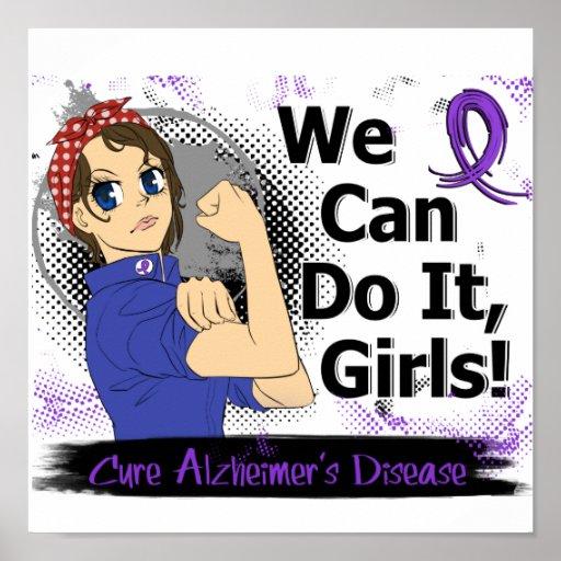Rosie Anime WCDI Alzheimer's Disease Print