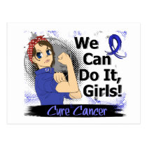 Rosie Anime WCDI Anal Cancer Postcard