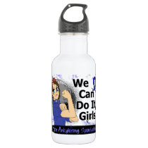 Rosie Anime WCDI Ankylosing Spondylitis Stainless Steel Water Bottle