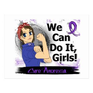 Rosie Anime WCDI Anorexia Postcard