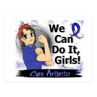 Rosie Anime WCDI Arthritis Postcard