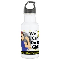 Rosie Anime WCDI Bladder Cancer Stainless Steel Water Bottle