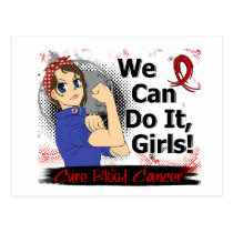Rosie Anime WCDI Blood Cancer Postcard