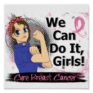 Rosie Anime WCDI Breast Cancer Poster