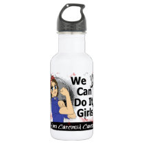 Rosie Anime WCDI Carcinoid Cancer Stainless Steel Water Bottle