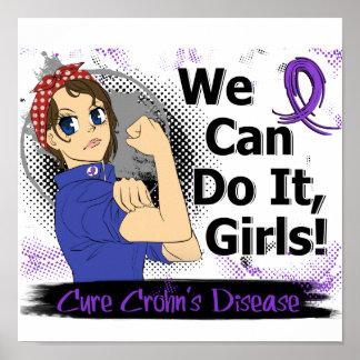 Rosie Anime WCDI Crohn's Disease Poster
