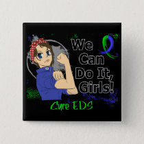 Rosie Anime WCDI EDS Pinback Button