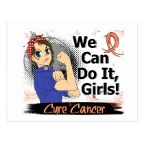 Rosie Anime WCDI Endometrial Cancer Postcard