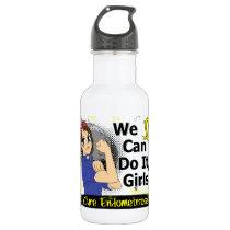 Rosie Anime WCDI Endometriosis Water Bottle
