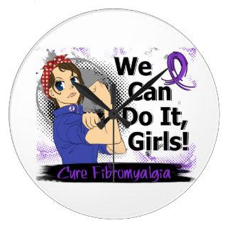 Rosie Anime WCDI Fibromyalgia Wall Clock