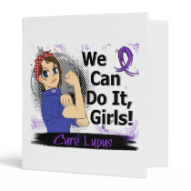 Rosie Anime WCDI Lupus 3 Ring Binder