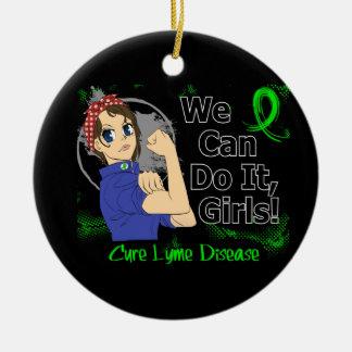 Rosie Anime WCDI Lyme Disease Christmas Tree Ornaments