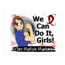 Rosie Anime WCDI Multiple Myeloma Postcard
