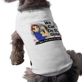 Rosie Anime WCDI Retinoblastoma Dog T-shirt
